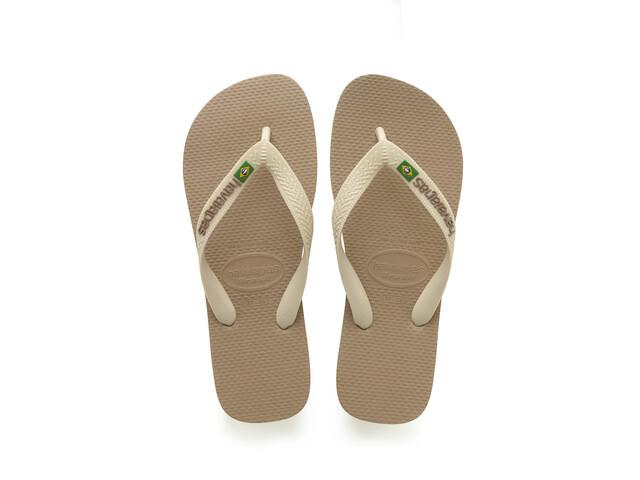 havaianas Brasil Logo sandaalit, rose gold/beige